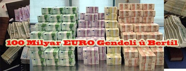 100 Milyar EURO Gendelî û Bertîl