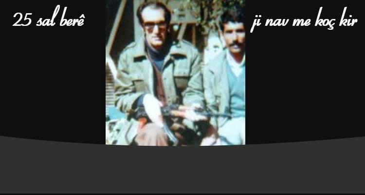 25. salvegera koça dawî ya zehmetkêşê Kurd Mihemed Şêxo