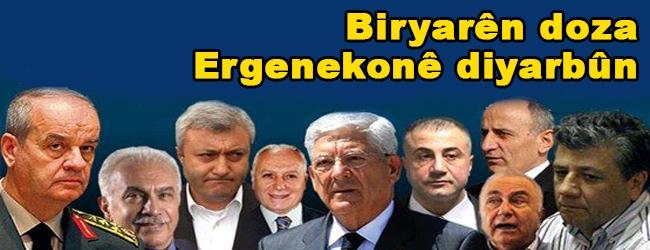 Biryarên doza Ergenekonê diyar dibin
