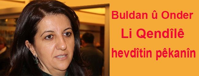 Buldan: Barzanî li Hewlêrê hemû derî li rûyê me girtin