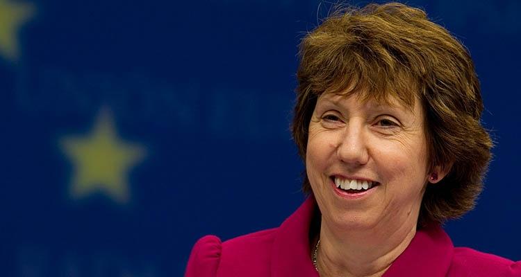 Catherine Ashton; Herêma Kurdistanê devereke mînake