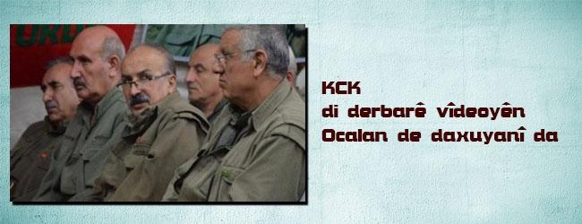 Daxuyaniya KCK'ê libarê dîmenên Ocalan