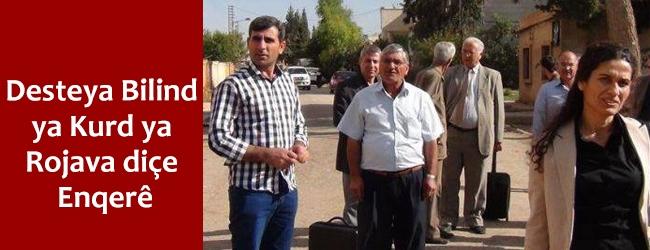 Desteya Bilind ya Kurd ya Rojava diçe Enqerê