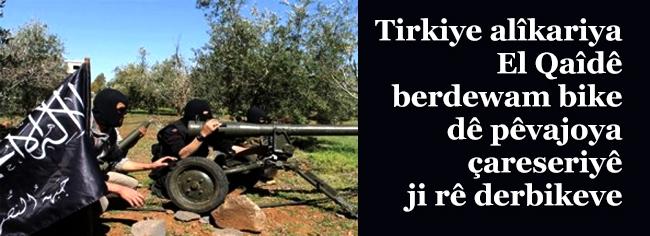 Economist: Tirkiye alîkariya El Qaîdê berdewam bike dê pêvajoya çareseriyê ji rê derbikeve
