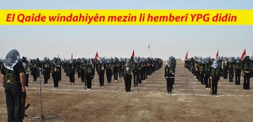 El Qaîde windahiyên mezin li hemberî YPG didin