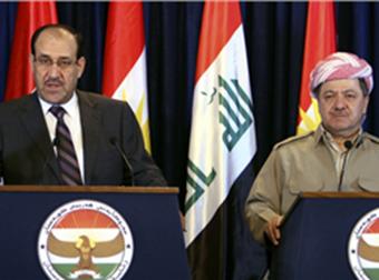 Encamê hevdîtina Serok Barzanî û Malikî ji bo çapemeniyê hate ragihandin