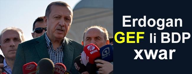 Erdogan gef li BDP xwar