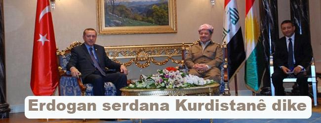 Erdogan serdana Kurdistanê dike