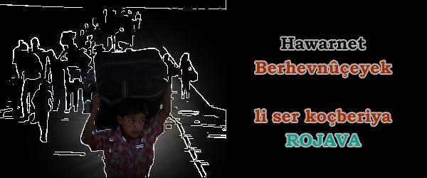 Hawarnet; Berhevnûçeyek li ser koçberiya Rojava