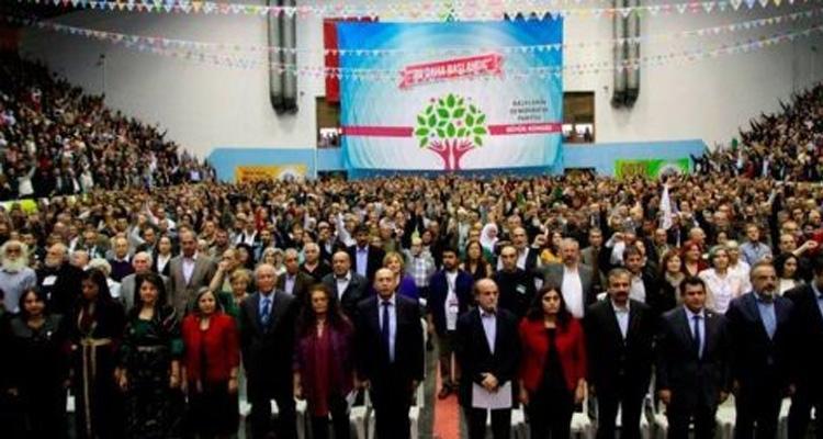 HDP Yekemîn kongreya xwe lidarxist