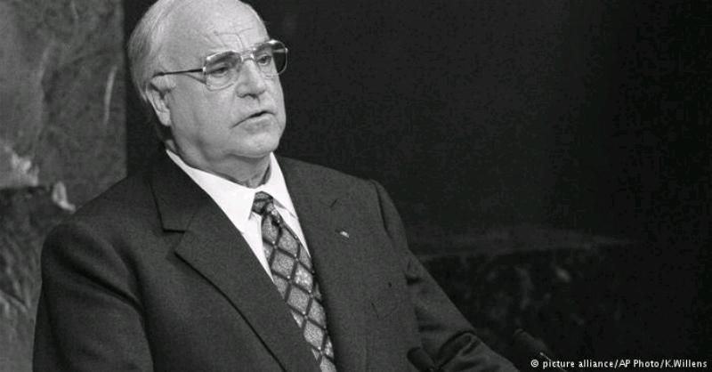 Helmut Kohl koça dawî kir