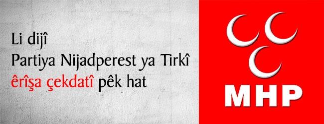 Li dijî Partiya nijadperest ya Tirkiyê êrîşa çekdarî pêk hat