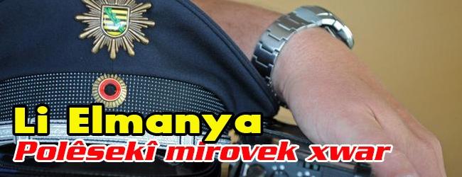 Li Elmanya Polêsekî mirovek xwar