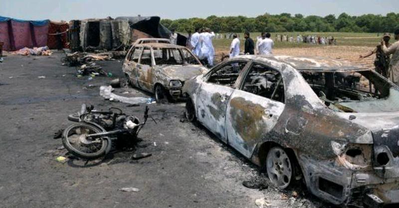 Li Pakîstanê tanqêr teqîya 148 kes mirin