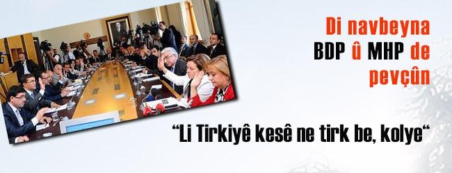 Li Tirkiyê yên ne tirkin kolene