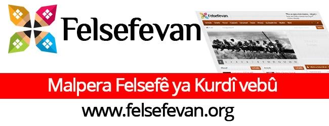 Malpera Felsefê ya Kurdî vebû felsefevan.org