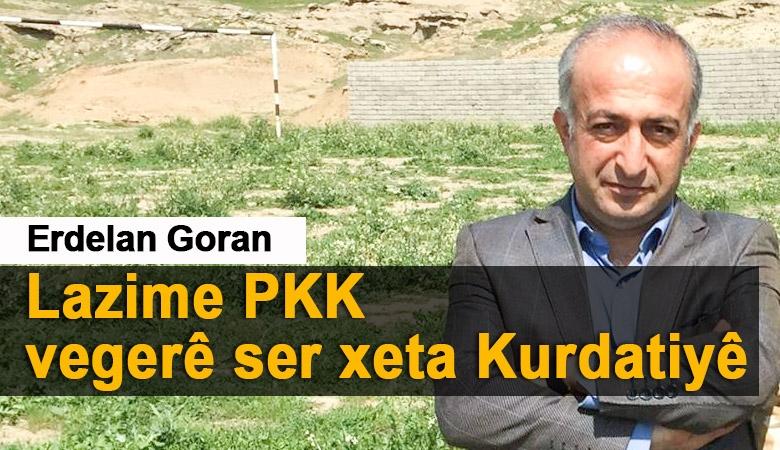 Nameyekî Kurdane bo KCK, PKK, HDP, DBP, DTK û   Erdelan Goran