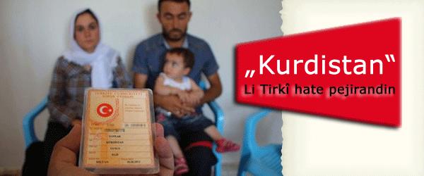 """Navê """"Kurdistan"""" ji aliyê dadgeha bilind ve hate pejirandin"""
