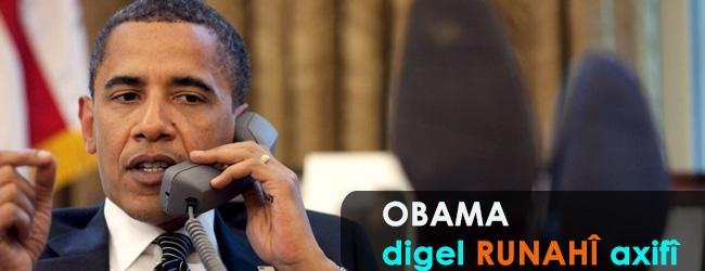 Obama digel Ruhanî axivî