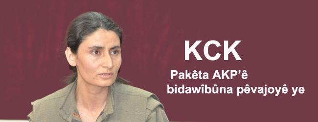 Pakêta AKP'ê bidawîbûna pêvajoyê ye