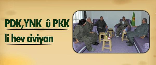PDK, YNK serdana PKK li Qendîlê kirin