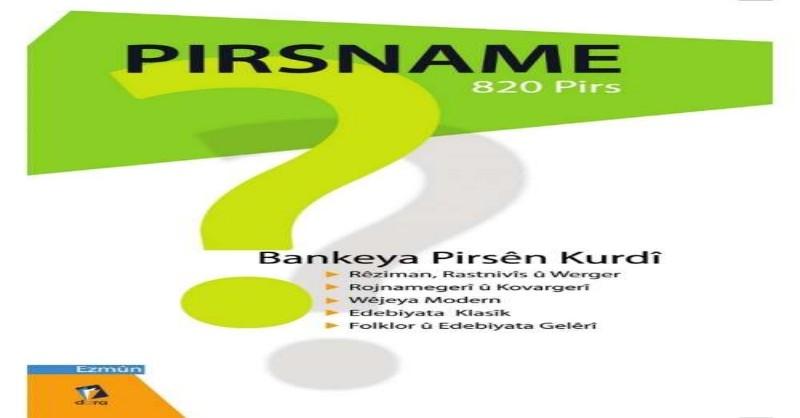 Pirtûkeke Nû   Bankeya Pirsên Kurdî