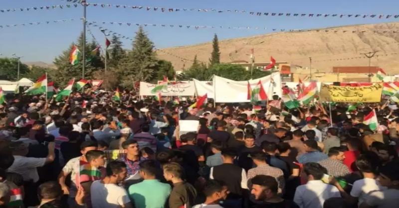 Piştgiriya referandûma serxwebûna Kurdistanê bi coşeke mezin dewam dike