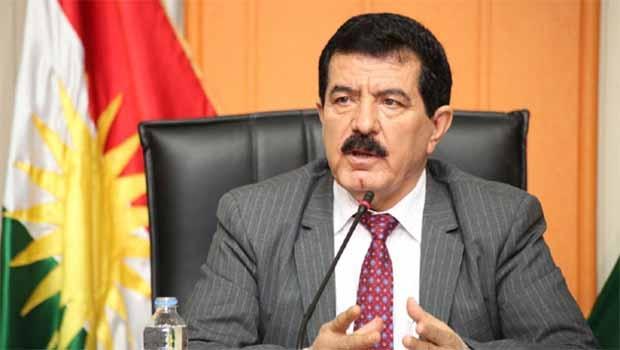 Piştî şikestina herêma Kurdistanê Kosret Resûl yekem car axifî