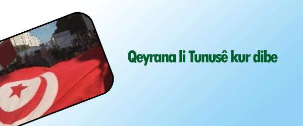 Qeyrana li Tunusê kûr dibe