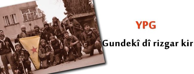 Serêkanî: YPG gundekî din rizgar kir