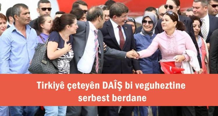 Tirkiyeyê bi pevguherandinê endamên çeteya DAÎŞ'ê serbest berdane