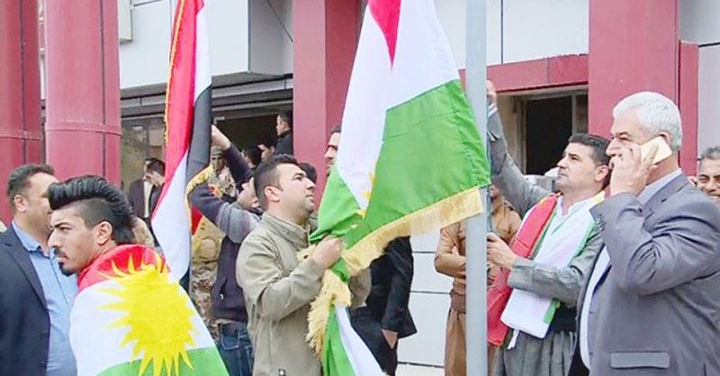Tirkmenên Iraqê dijîbûna xwe ya ala Kurdistanê didomînin