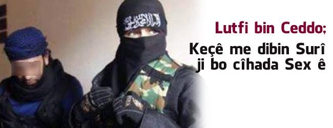 Tunusê Lutfî Bin Ceddo: Keçên me dibin Suriyê bo cîhada seksê