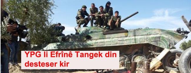 YPG li Efrînê tangek din jî desteser kir