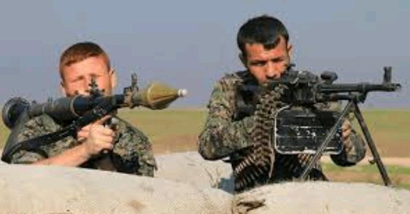 YPG; Me 16 leşkerên tirk dîl girtine