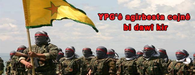 YPG'ê agirbesta cejnê bi dawî kir